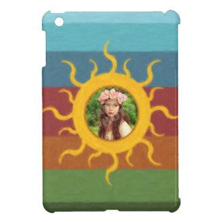 Painted Sun Photo Template Cover For The iPad Mini