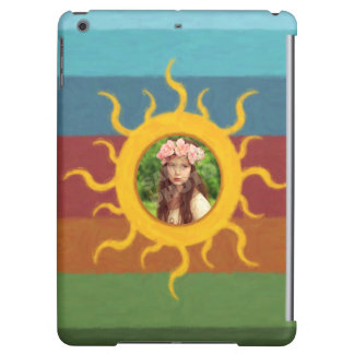 Painted Sun Photo Template iPad Air Cover