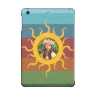Painted Sun Photo Template iPad Mini Case