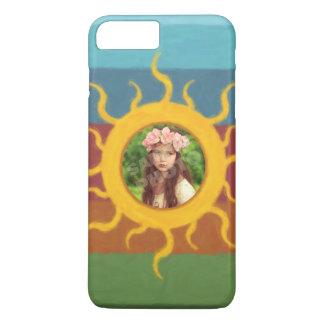 Painted Sun Photo Template iPhone 7 Plus Case