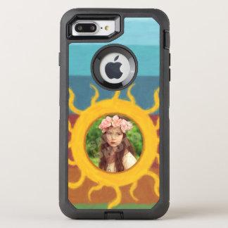 Painted Sun Photo Template OtterBox Defender iPhone 7 Plus Case