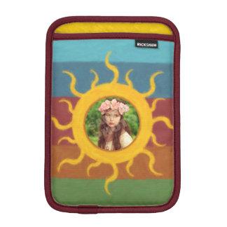 Painted Sun Photo Template Sleeve For iPad Mini
