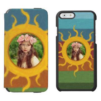 Painted Sun Photo Template Incipio Watson™ iPhone 6 Wallet Case