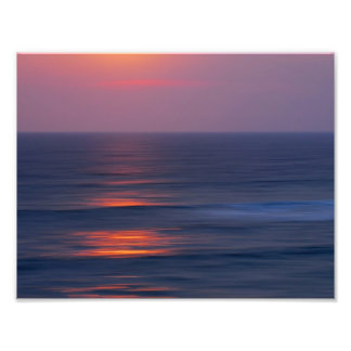 Painted Sunset Photographic Print