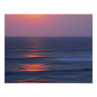Painted Sunset Photograph