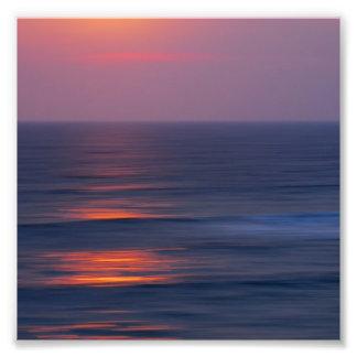 Painted Sunset Photo Print