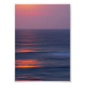 Painted Sunset Photo