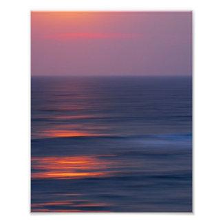 Painted Sunset Photo Art