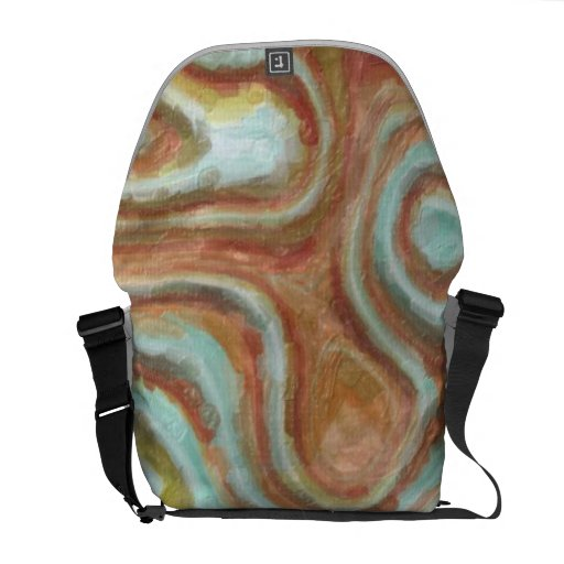 Painted Texture Abstraction TPD Courier Bag