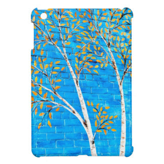painted trees case for the iPad mini