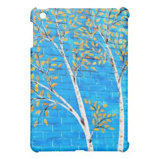 painted trees iPad mini covers