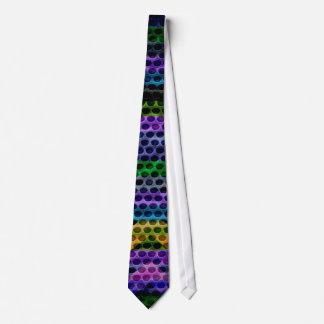 Painted Trendy Chevron Hole Tie