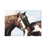 Painted Trio Canvas Print