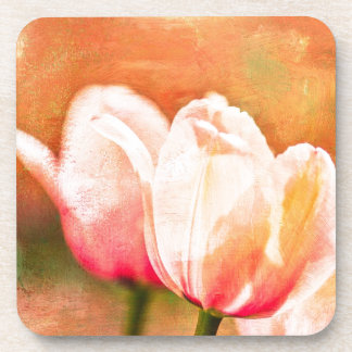 Painted Tulips Coaster
