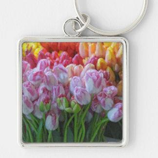 Painted Tulips-Street Market Keychain