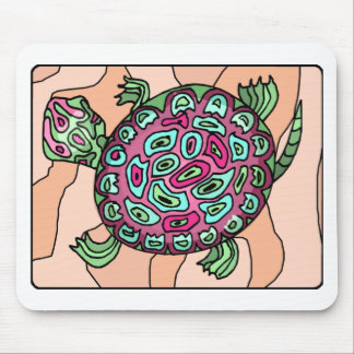 Painted Turtle Mouse Pad