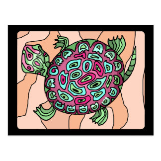 Painted Turtle Postcard