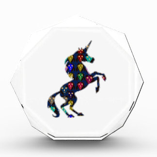 Painted UNICORN horse fairytale navinJOSHI NVN100 Acrylic Award