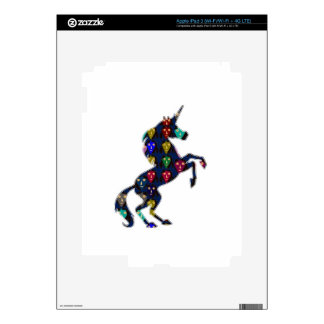 Painted UNICORN horse fairytale navinJOSHI NVN100 Decals For iPad 3
