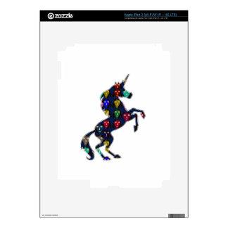 Painted UNICORN horse fairytale navinJOSHI NVN100 iPad 3 Decal