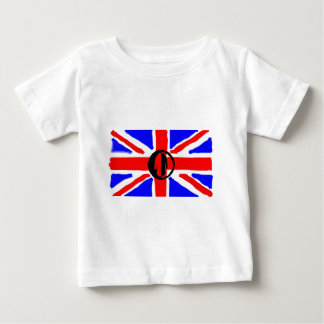 Painted Union Jack Baby T-Shirt