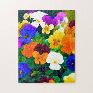 Painted Violets (2012 Puzzle