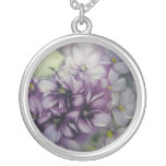 Painted Violets Necklace