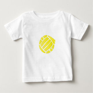 Painted Volleyball Art For men women ns Baby T-Shirt