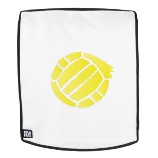 Painted Volleyball Art For men women ns Backpack