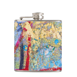 Painted Wall Flask
