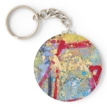 Painted Wall Keychain