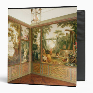 Painted wall panels in the Salon of Gille Binder