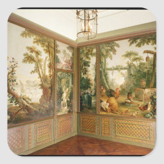 Painted wall panels in the Salon of Gille Square Sticker