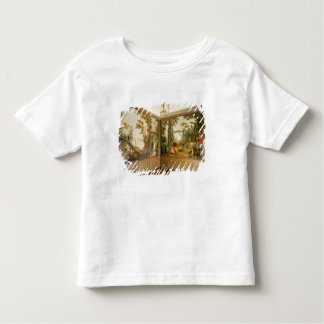 Painted wall panels in the Salon of Gille Toddler T-shirt