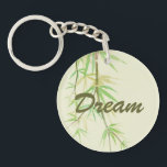 "Painted watercolor card with wild stylized keychain<br><div class=""desc"">Painted watercolor card with wild stylized bamboo leaves &#169; and &#174; Bigstock&#174; - All Rights Reserved. 