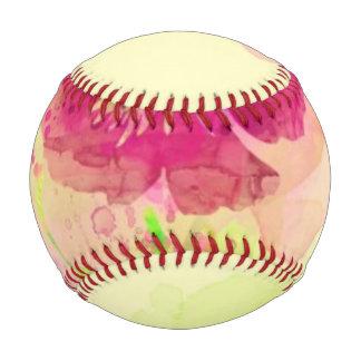 Painted watercolor poppies 2 baseball
