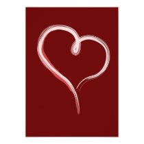 artsprojekt, valentine's day, valentine, heart, paint, artsy, love, Convite com design gráfico personalizado