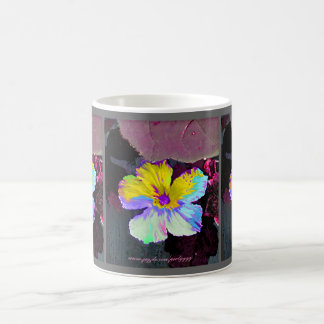 Painted Wildflower Coffee Mug