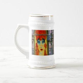 Painted Windows Stein Mugs