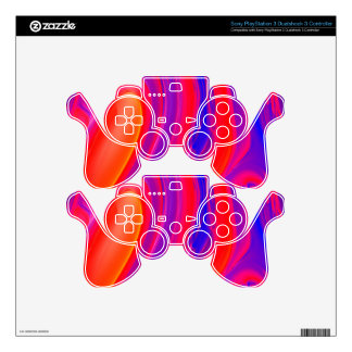 PAINTED WORLD 464 MANDELBULB 3D. FRACTAL IMG DECAL FOR PS3 CONTROLLER