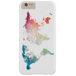 Painted World Map Barely There iPhone 6 Plus Case