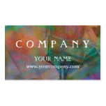 Painter Abstract Business Card