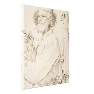 Painter and Connoisseur by Pieter Bruegel Canvas Print