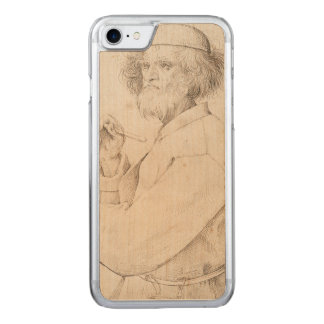 Painter and Connoisseur by Pieter Bruegel Carved iPhone 7 Case