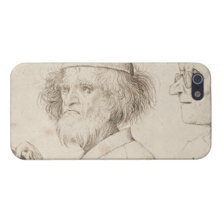 Painter and Connoisseur by Pieter Bruegel Covers For iPhone 5