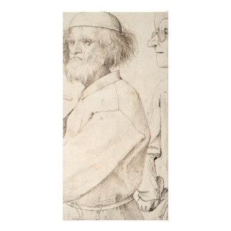 Painter and Connoisseur by Pieter Bruegel Photo Card