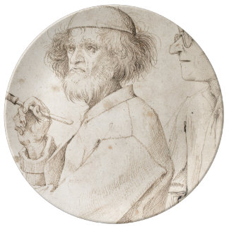 Painter and Connoisseur by Pieter Bruegel Plate