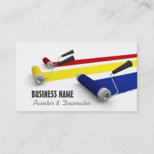 Painter business cards templates zazzle painter and decorator business card colourmoves