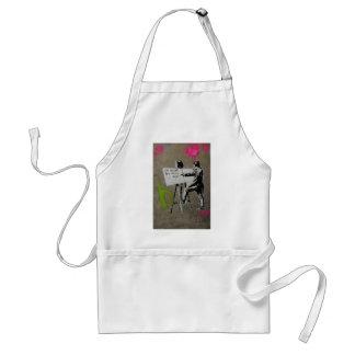 Painter at work apron