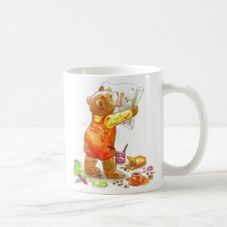 Painter Bear Coffee Mug